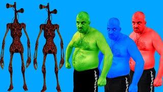 Team Hulk VS Siren Head #2