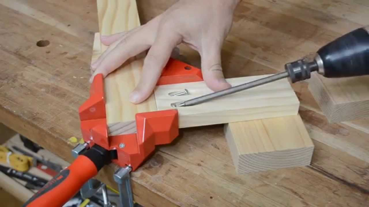 Bessey Ws3 Right Angle Woodworking Clamp Youtube