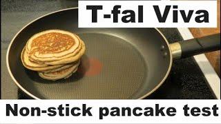 Tfal Viva Making Pancakes with NO OIL