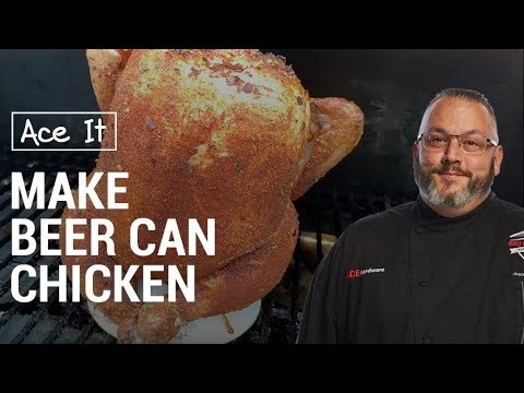 Beer Can Chicken On A Traeger - Ace Hardware