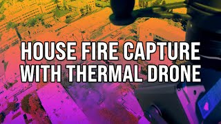 Drone Thermal Firefighter Support