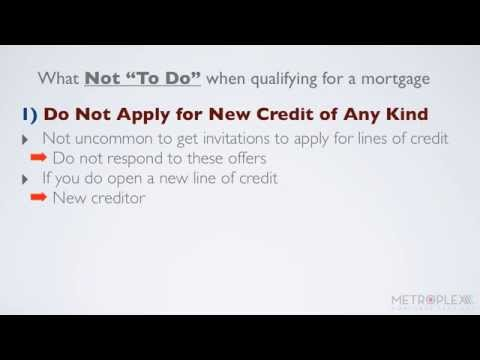 "What Not ""To-Do"" When Qualifying for a USDA Loan"