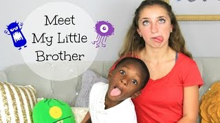 Meet My Little Brother | Brooklyn and Bailey Thumbnail