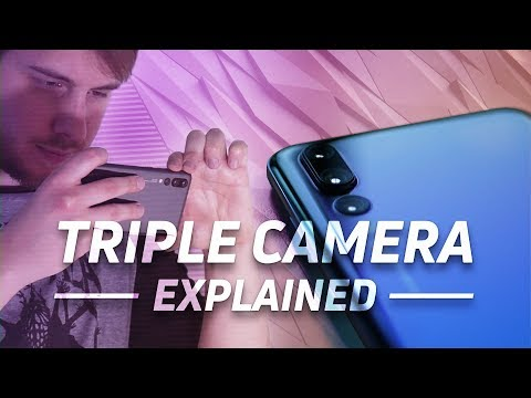 Huawei P20 Pro - World's first triple camera explained