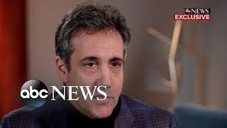 Trump knew payments were wrong, Cohen says l FULL INTERVIEW PT 1/2