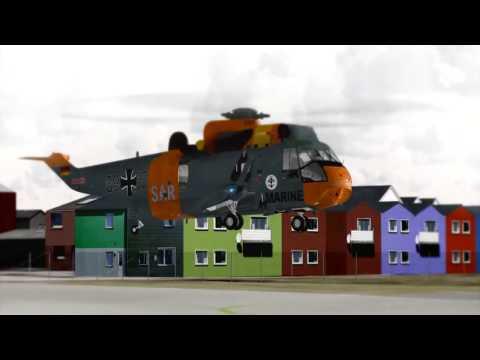 FSX Virtavia Westland SH 3 Sea King MK41 SAR