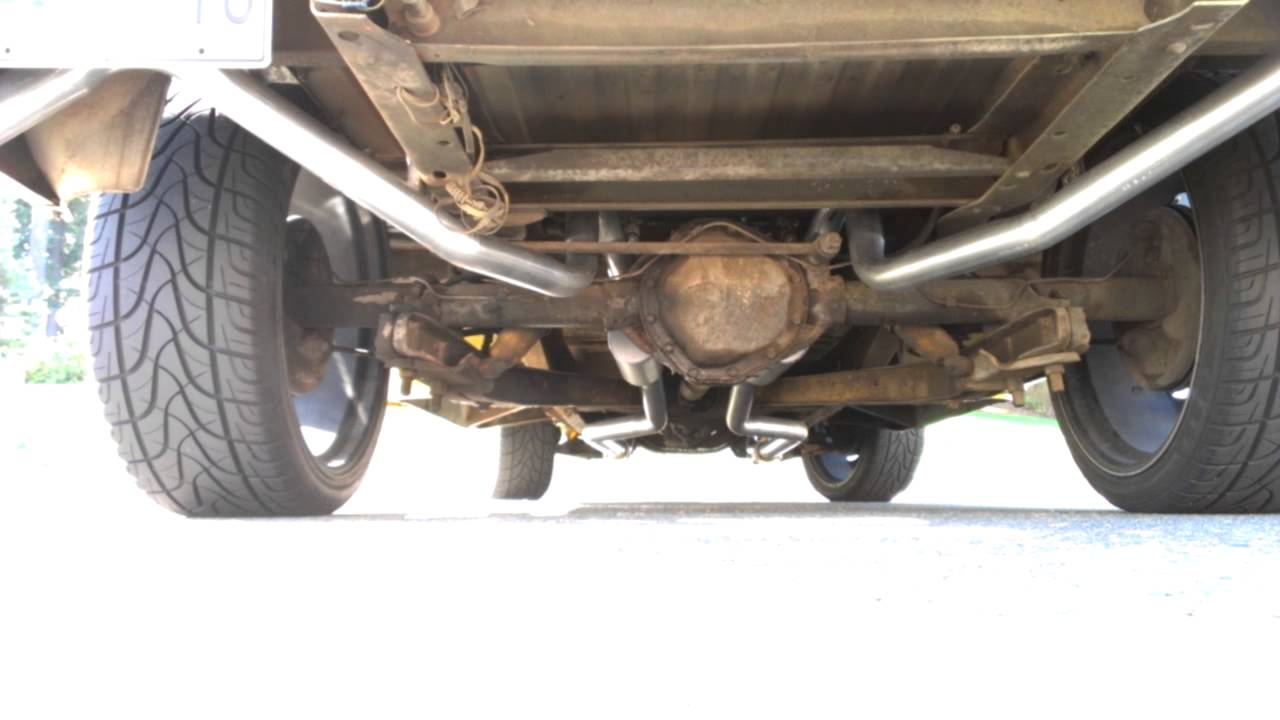 1960 Chevrolet Truck Exhaust System