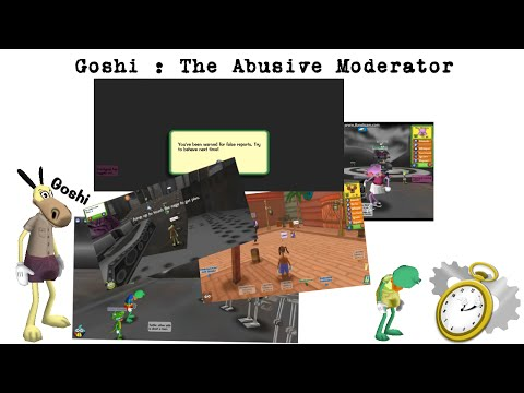 Mega Rant: Goshi the Abusive Moderator - Part 1