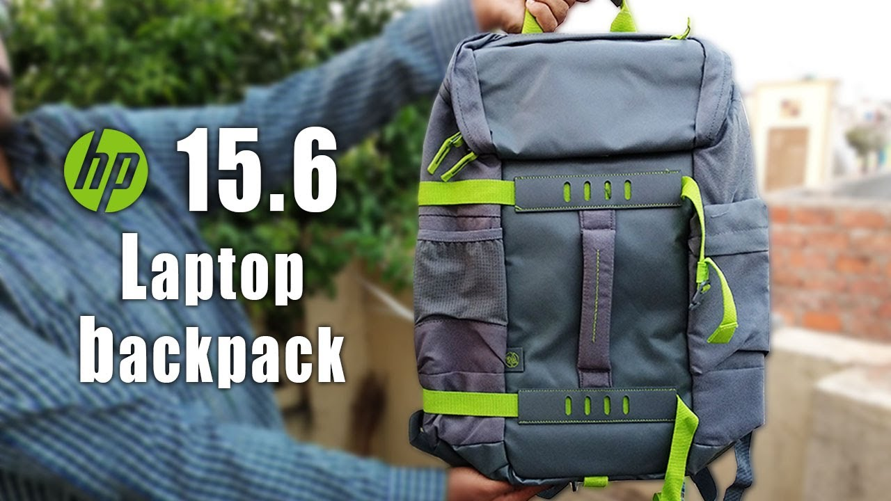 51e369ffe919 HP 15.6 inch Laptop Backpack Odyssey (grey-green) REVIEW - YouTube