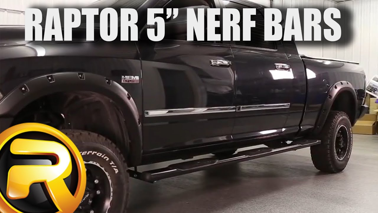 How To Install Raptor 5 Quot Oval Nerf Bars Youtube