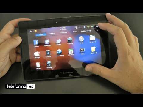 Rim Blackberry Playbook videoreview da Telefonino.net