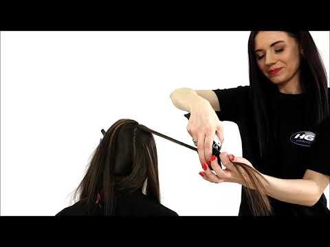 Видеоурок полировки волос