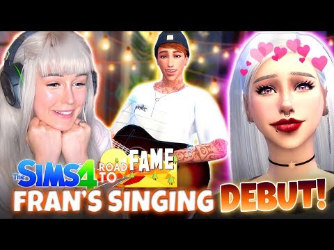 FRAN'S FIRST GIG! 🎸🎶 (The Sims 4 ROAD TO FAME #10!🤩)