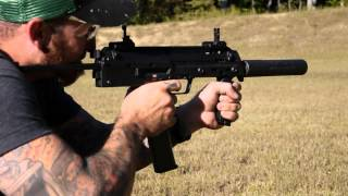 Slow Motion Full Auto H&K MP7A1