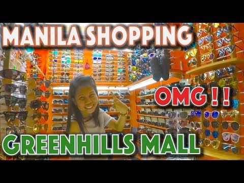 Greenhills Shopping mall THE CHEAPEST PLACE TO SHOP IN MANILA!