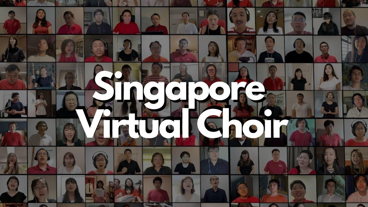900-Strong Singapore Virtual Choir sings Home (Dick Lee)