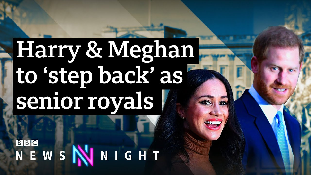 harry meghan to step back what does the future hold for the royal family bbc newsnight youtube royal family bbc newsnight