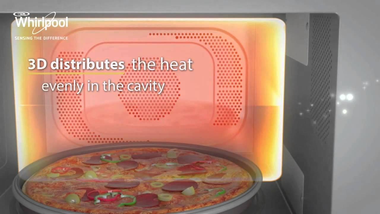 Whirlpool Jet Cuisine Microwave Jq 280 Sl Youtube