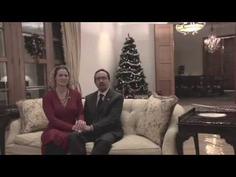 Büyükelçi John Bass ve Holly Holzer Bass'ın yeni yıl mesajı