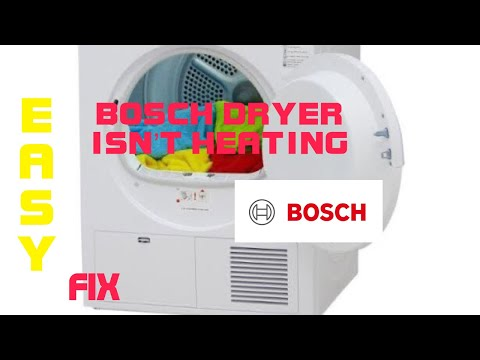 Bosch dryer stopped drying easy fix youtube bosch dryer stopped drying easy fix sciox Image collections