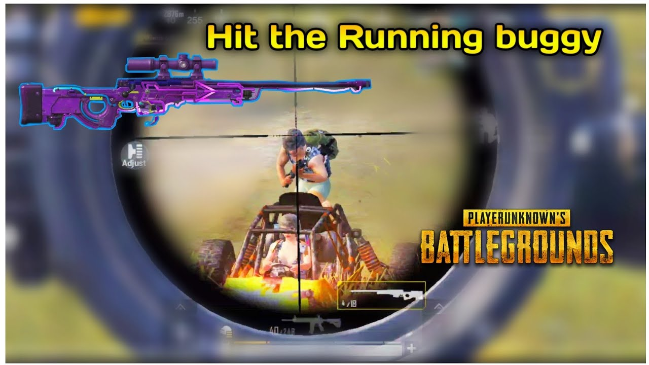 Hit the running buggy with Awm🔥 shots in 0.01 sec😱😱