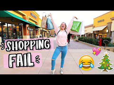 Christmas Shopping FAIL!! I Only Bought Stuff for Me.. Vlogmas Day 19!!