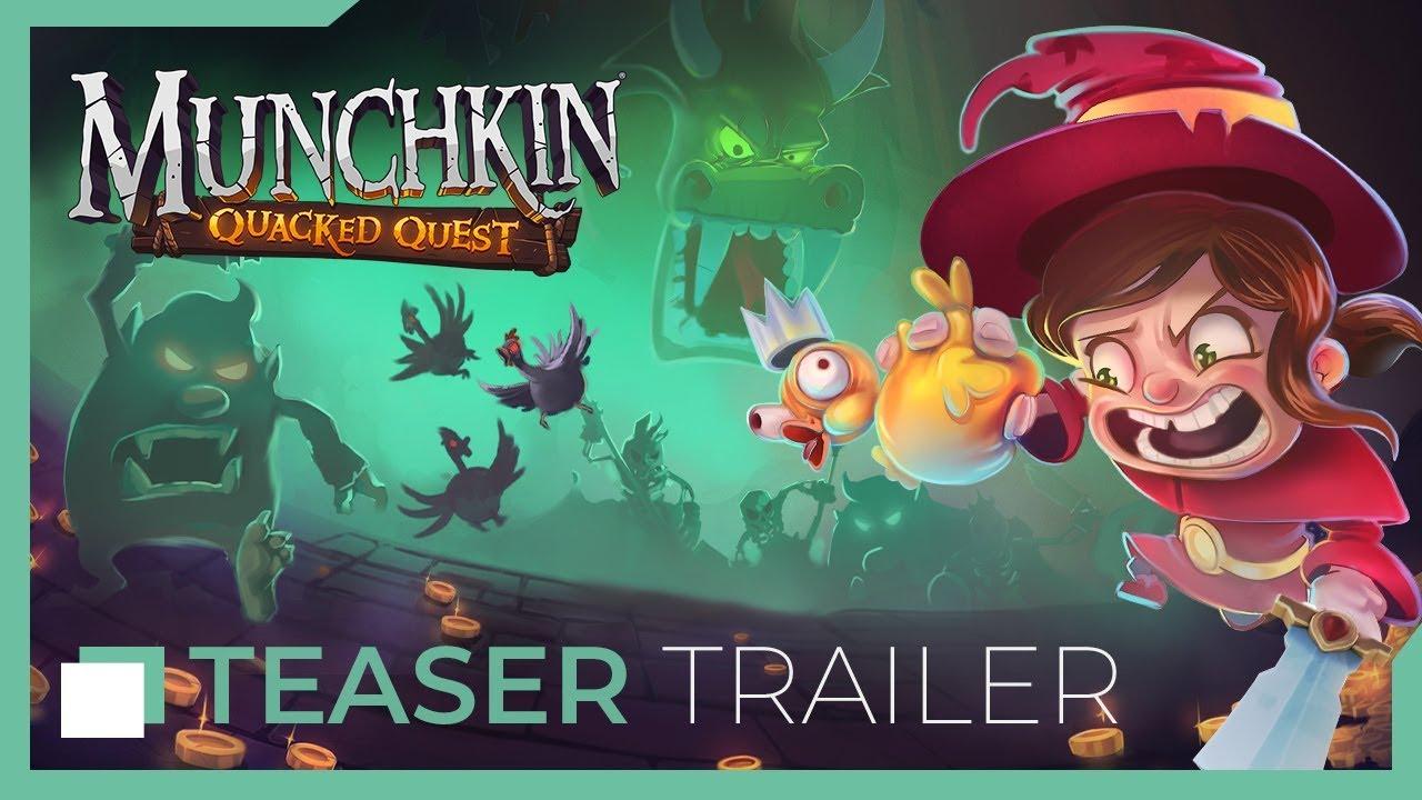Στις 19 Νοέμβρη το Munchkin: Quacked Quest