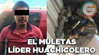 """Detienen a """"El Muletas"""" líder huachicolero en Guanajuato"""