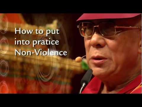 The Dalai Lama, Inner Peace and Non-Violence