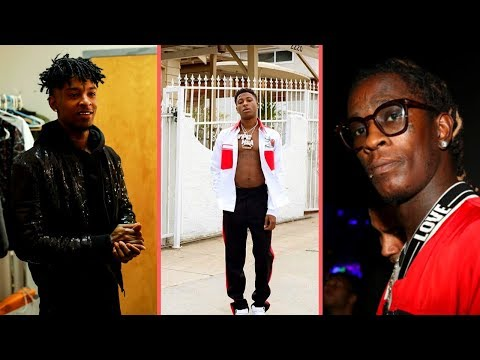 NBA YoungBoy Reacts To Young Thug Controversial Comment Shouting Out 21 Savage and YB Saying