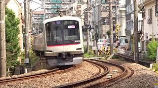 東急東横線5050系5174F白楽カーブ通過