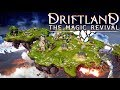 NEW 4X STRATEGY / GOD GAME ON FLOATING ISLANDS!【Driftland The Magic Revival(Gameplay / Let's Play)】