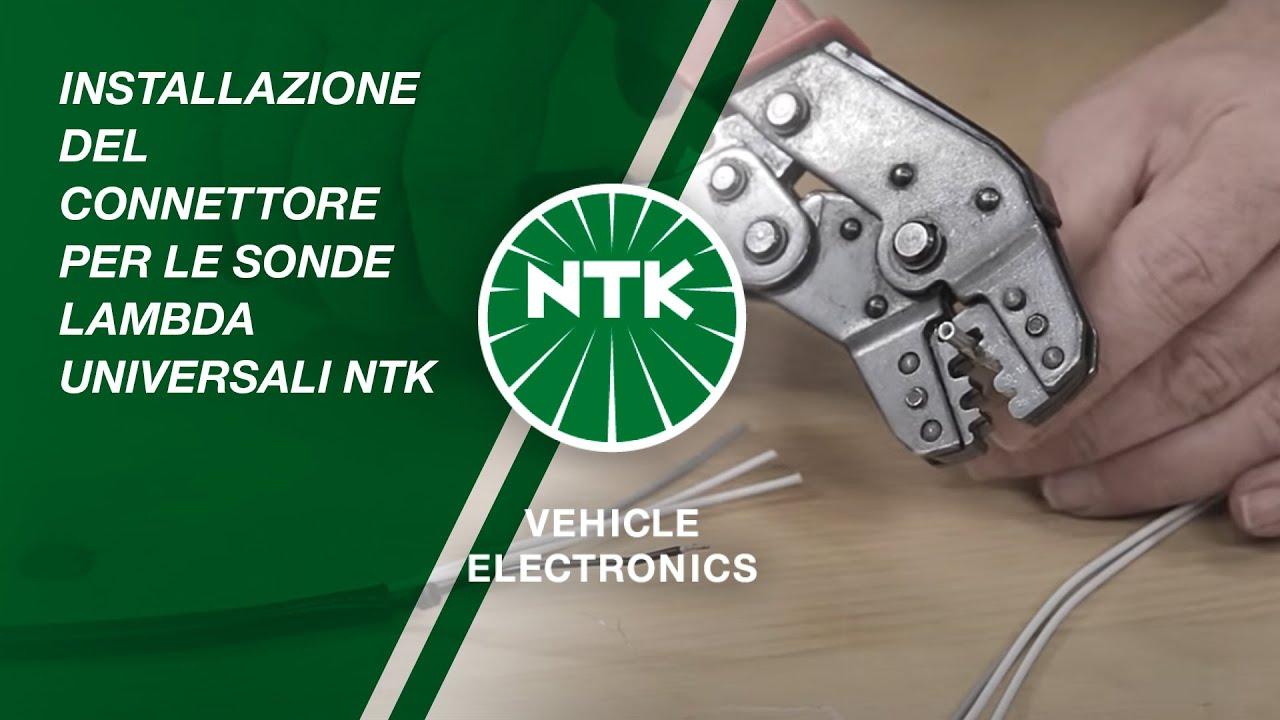 Installazione del connettore per le sonde lambda