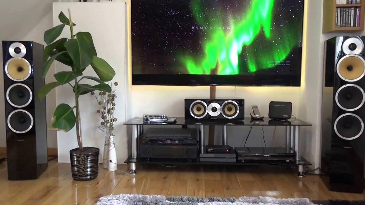 Bowers  U0026 Wilkins Home Cinema Cm9   Central Cm1   B U0026w Pv1d Subwoofer Speaker     Hq