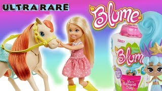 Barbie w stadninie koni  Rozkwitające laleczki Blume  Toys Land