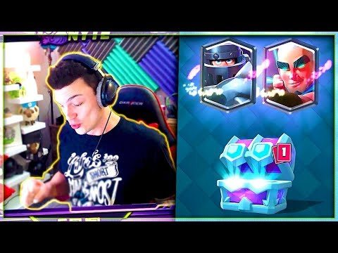 CLASH ROYALE New DRAFT CHEST Legendary Deck!
