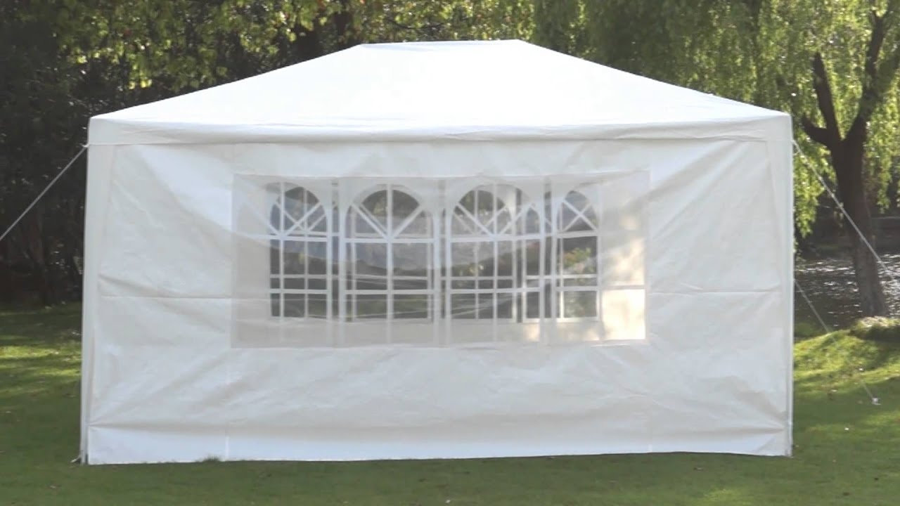 Pop Up Gazebo Bunnings Miadomodo Marquee Gazebo Fzp01 And Fzp02