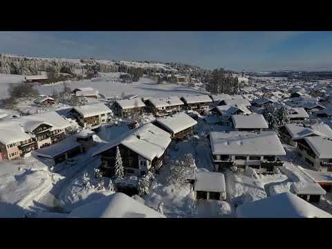 Jahrhundertwinter 2019 im Oberallgäu