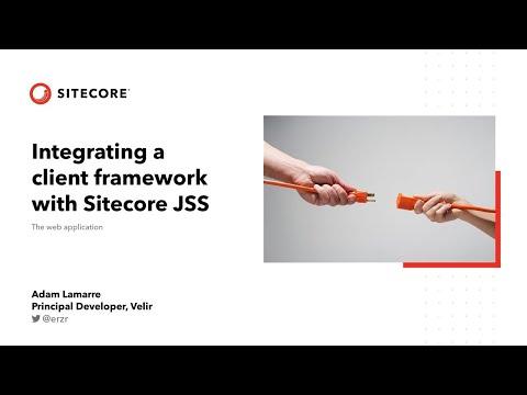 SitecoreSYM 2019 - Integrating A Client Framework With JSS - Web Application