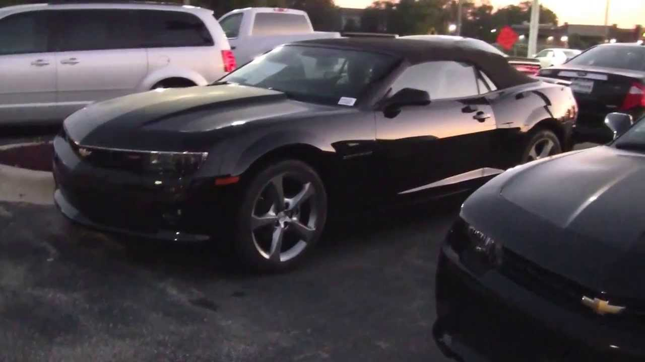 2014 Chevy Camaro 2 Lt Convertible Black Youtube