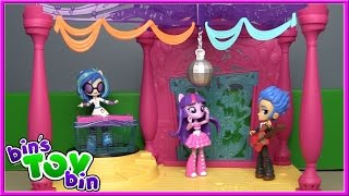 Twilight Sparkle CANTERLOT HIGH SCHOOL DANCE Playset Review! Equestria Girls Minis | Bin's Toy Bin