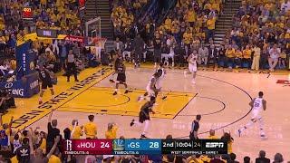 2nd Quarter, One Box Video: Golden State Warriors vs. Houston Rockets
