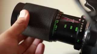 Auto Makinon MC Zoom 80-200 f4.5 Pentax PK Mount - Canon 60D