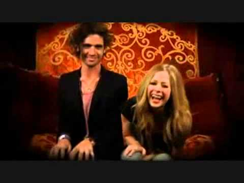 BLOOPERS of Avril Lavigne and Tyson Ritter