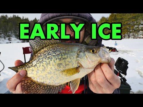 First ICE FISHING report of 2016/2017 season!