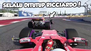 Ricciardo Ngajakin Ribut #Sochi #RussiaGP - F1 2017 Career (PC) Part 4