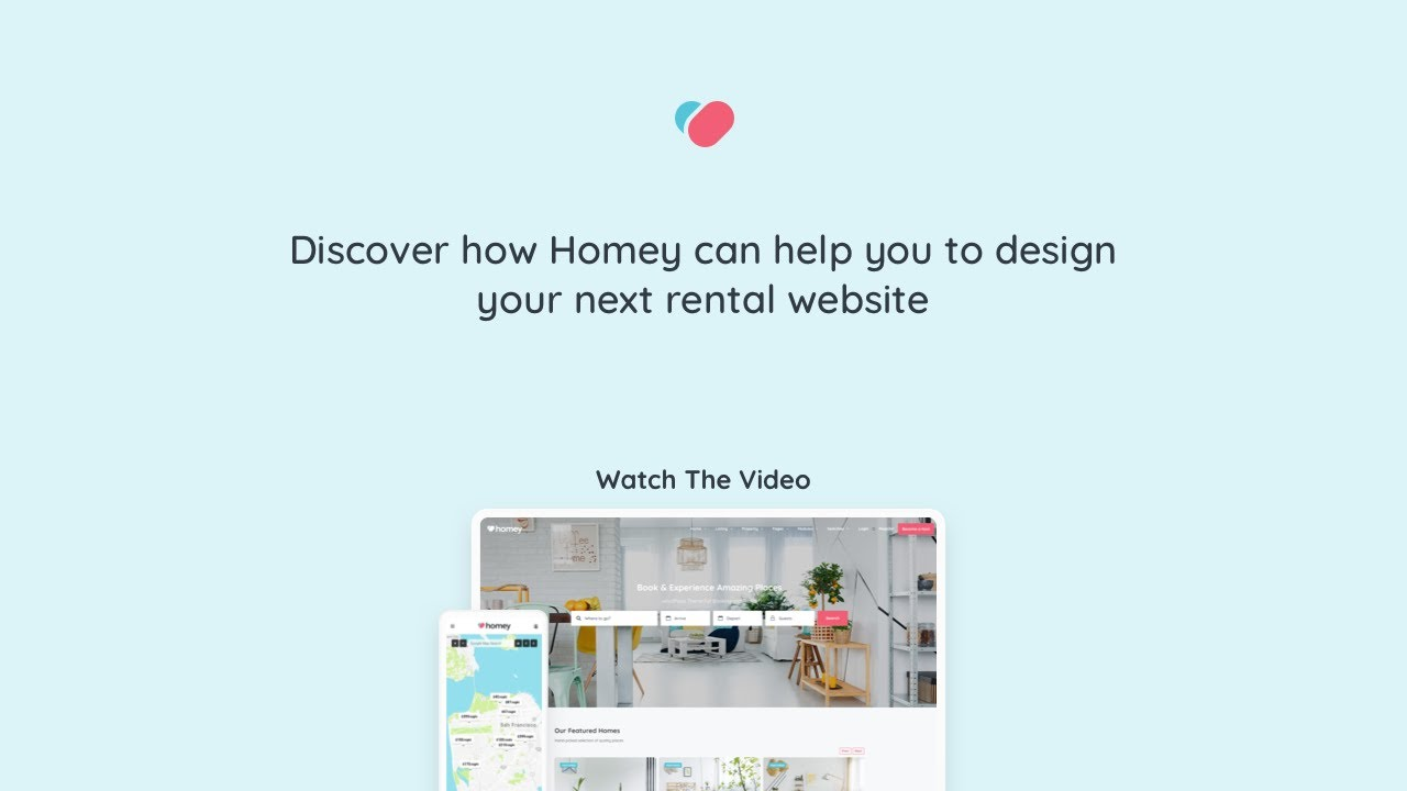 Homey – WordPress Theme for booking, accommodations and rentals