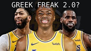 Why Laker's Kostas Antetokounmpo is a PROBLEM!