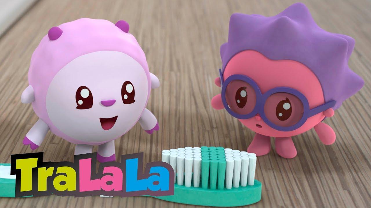 BabyRiki 60MIN (Igiena copiilor) - Desene animate | TraLaLa