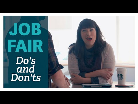 Job Fair Do's & Don'ts